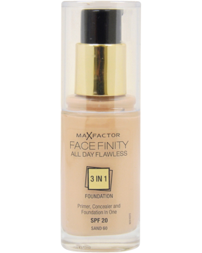 FaceFinity 3 in 1 Foundation Sand 60
