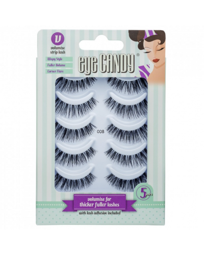 False Eyelashes Multipack 008