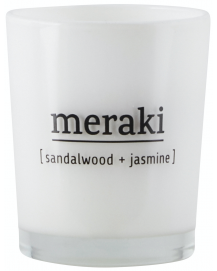 Scented Candle Sandelwood + Jasmine