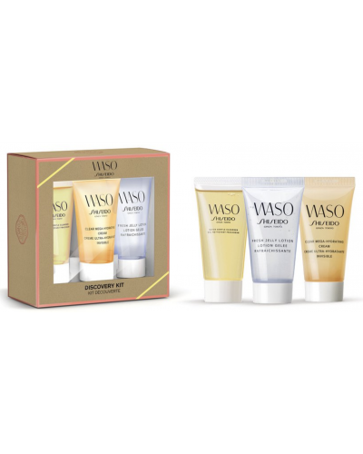 Waso Cleanser, Jelly Lotion & Hydration Cream