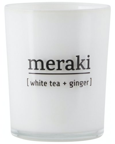 Scented Candle White Tea + Ginger