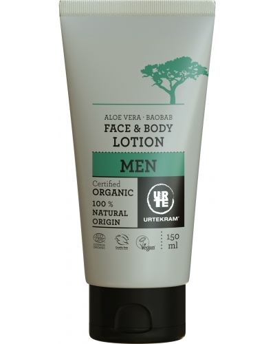 MEN Face & Bodylotion Aloe Vera & Baobab Øko