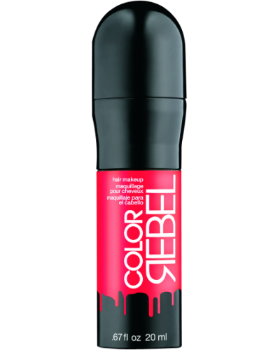 Color Rebel Hair Makeup Coral
