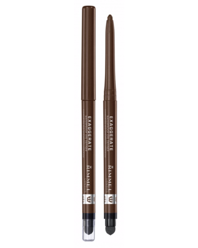 Exaggerate Vandfast Eyeliner Rich Brown