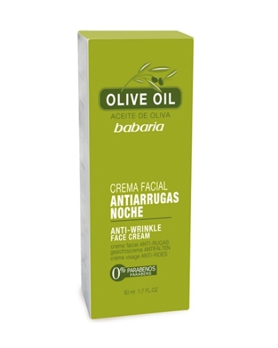 Olive Oil Anti Wrinkle Night Face Cream