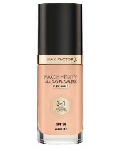 All Day Flawless 3 in 1 Foundation - Golden 075