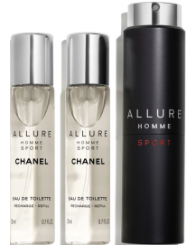 Allure Homme Sport Refillable Travel Spray