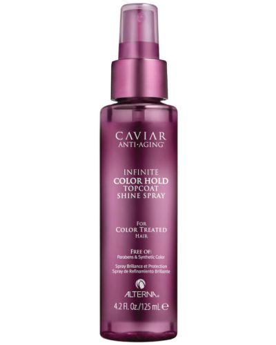 Caviar Infinite Color Hold Top Coat Shine Spray