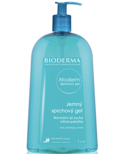 Atoderm Silky Shower Gel For Dry and Sensitive Ski