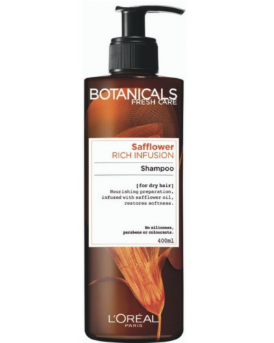 Rich Infusion For Dry Hair Safflower Shampoo