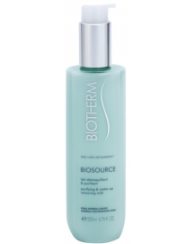 Biosource Purifying & Make Up Removing Milk