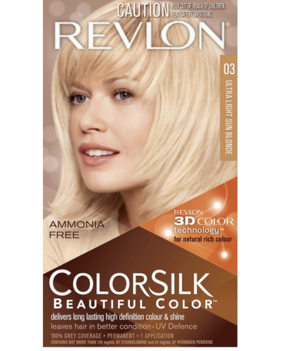 Colorsilk Ammonia Free 03 Ultra Light Sun Blonde
