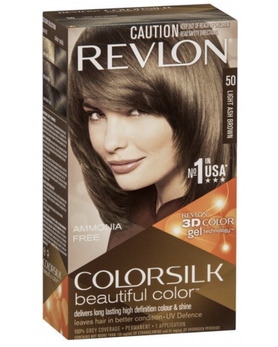 Colorsilk Ammonia Free 50 Light Ash Brown