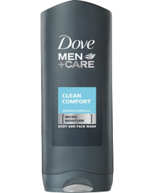 Men Clean Comfort Body & Face Wash