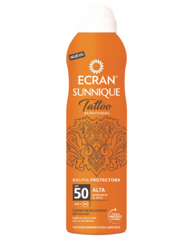 Sunscreen Tattoo Mist SPF50