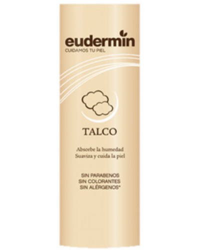 Talc Without Allergens, Parabens, Coloring