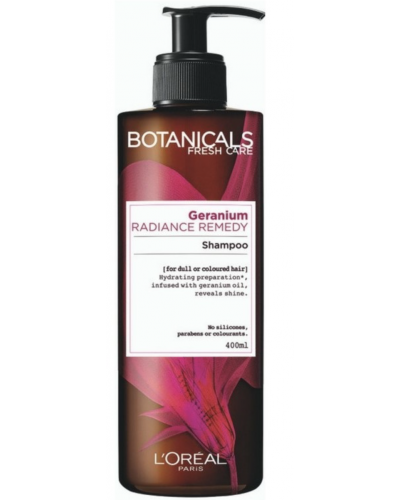 Radiance Remedy For Dull Hair Geranium Shampoo