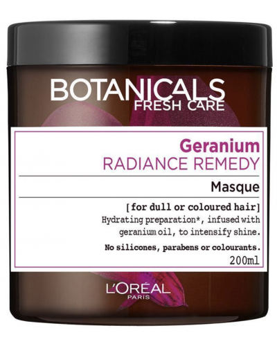 Radiance Remedy For Dull Hair Geranium