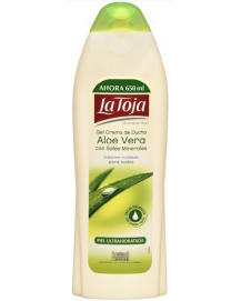 Aloe Vera Shower Gel Cream With Minerals