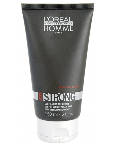 Homme 6 Force Strong Styling Gel