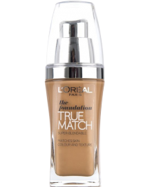 True Match The Foundation N7 Amber