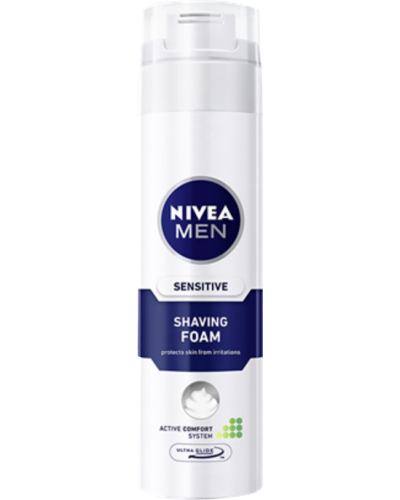 Men Sensitive Shaving Foam