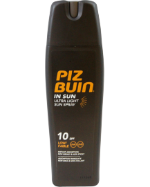 In Sun Ultra Light Spray SPF 10