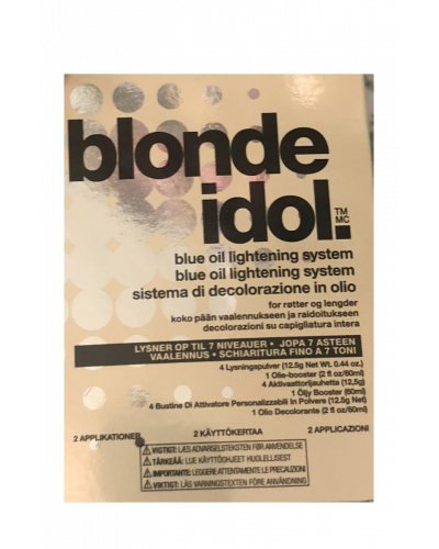 Blonde Idol Blue Oil Lightening System