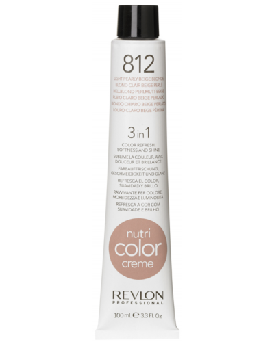 Color Creme 812 Light Pearly Beige Blond