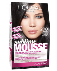 Sublime Mousse Hair Coloring 200 Sensual Black
