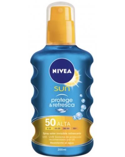 Sun Protect And Refresh Sun Lotion Spray SPF50