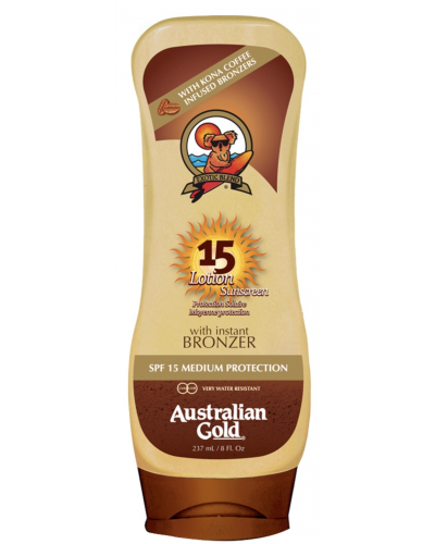 Lotion Sunscreen SPF 15 With Bronzer