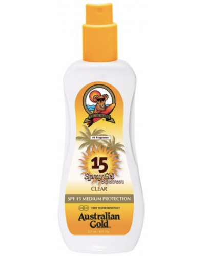 Sunscreen Spray Gel SPF 15
