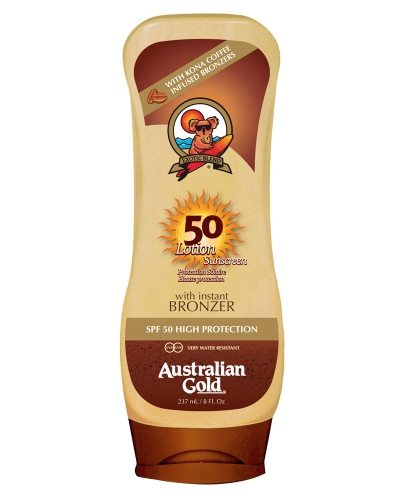 Sunscreen Lotion With Bronzer
