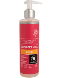 Shower Gel Ren Forkælelse Rose Øko